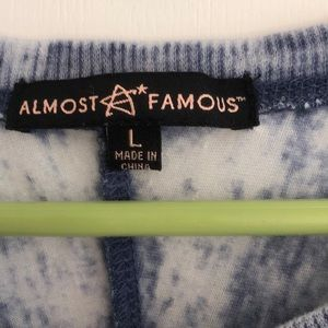 Almost Famous Tops - Almost Famous Elephant Long Sleeve Top
